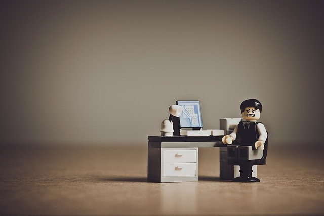 stressed out lego man