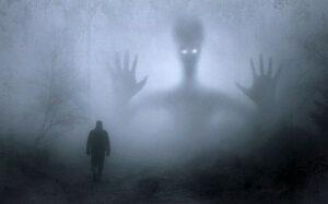 Monster in Fog