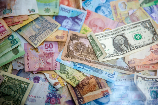 Bills from different countries